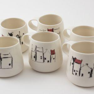 Porcelain teacups