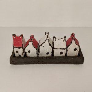 Set of miniature houses in little square tray, Céramiques, Berangere Ceramiques, Bérangère Noyau, Ateliers d'art de France, Artisan de France, Artiste de France, Artiste céramiste, Artiste porcelaine, créateur en porcelaine, Design et fabrication de petites séries et pièces uniques, arts décoratifs, objets décoratifs, céramiste, céramiste de france, céramiste Samois-sur-Seine, céramiste français, céramiste polyvalente, porcelainier, porcelainier français, porcelainier Samois-sur-Seine, porcelainier de France, Passage Potin, céramique, objet en céramique, porcelaine, objet en porcelaine, pièces uniques céramique, pièces uniques porcelaine, créatrice de céramique, créatrice de porcelaine, créatrice française, atelier Samois-sur-Seine, cours Samois-sur-Seine, cours céramique, cours porcelaine, cours céramique adulte, cours céramique enfant, cours porcelaine adulte, cours porcelaine enfant, impression en sérigraphie sur porcelaine, pièce unique décoration, pièce unique made in France, pièce unique décoration made in France, décoration made in France, objet made in France, céramique made in France, porcelaine made in France, artisanat français, art de france Bérangère Céramiques, Berangere Ceramiques, Bérangère Noyau, Ateliers d'art de France, Artisan de France, Artiste de France, Artiste céramiste, Artiste porcelaine, créateur en porcelaine, Design et fabrication de petites séries et pièces uniques, arts décoratifs, objets décoratifs, céramiste, céramiste de france, céramiste Samois-sur-Seine, céramiste français, céramiste polyvalente, porcelainier, porcelainier français, porcelainier Samois-sur-Seine, porcelainier de France, Passage Potin, céramique, objet en céramique, porcelaine, objet en porcelaine, pièces uniques céramique, pièces uniques porcelaine, créatrice de céramique, créatrice de porcelaine, créatrice française, atelier Samois-sur-Seine, cours Samois-sur-Seine, cours céramique, cours porcelaine, cours céramique adulte, cours céramique enfant, cours porcelain